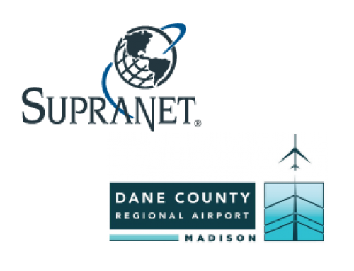 SupraNet provides complimentary wireless Internet at the Dane County Regional Airport